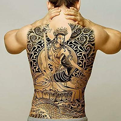 Handaxian 2 unids-Grande Tatuaje Trasero Completo Totem ...