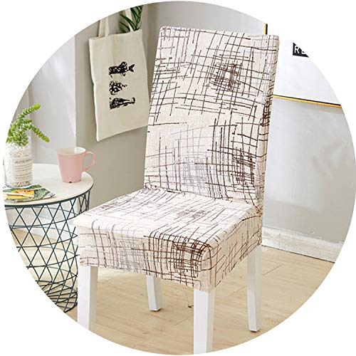 meiguiyuan Spandex Stretch Flower Chair Cover with Backrest Protector Slipcover Seat Case Removable Elastic Dining Chair Covers Living Room,9,Universal