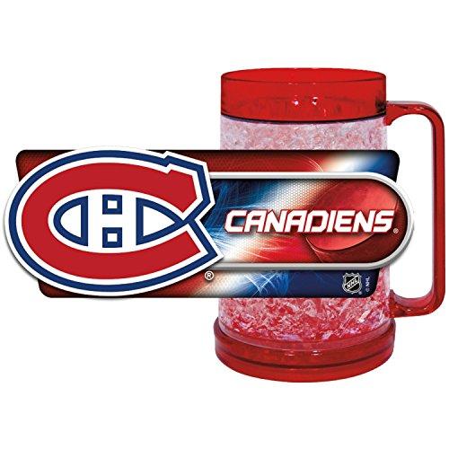 Montreal Canadiens Freezer Mug, Canadiens Crystal Freezer