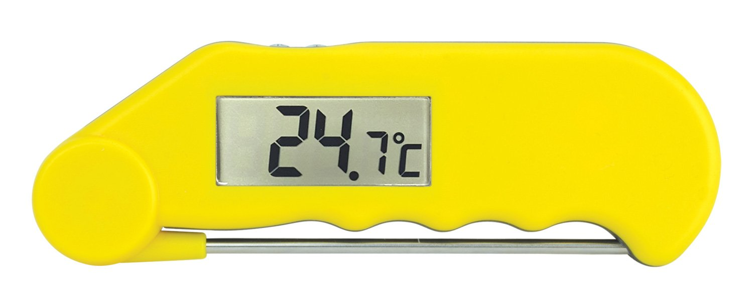 Gourmet water resistant folding probe thermometer (Yellow) ETI Ltd 810-730