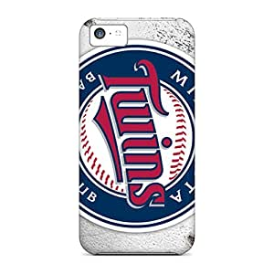 Iphone 5c DLS12213pRpX Provide Private Custom Trendy Minnesota Twins Series Protective Phone Covers -DannyLCHEUNG