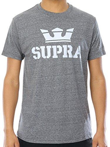 Supra Herren Oberteile / T-Shirt Above grau XL