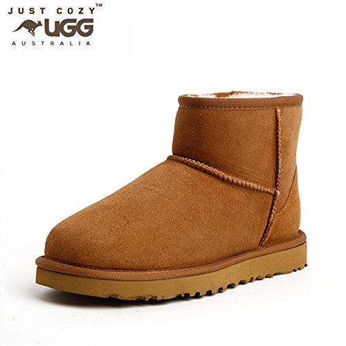 just cozy ugg classic mini boot chestnut 6 amazon com au fashion rh amazon com au