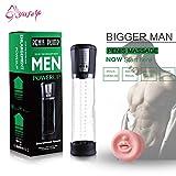 LTD one pcs Male Penis Enlargement Enhancer Vacuum Pump Penis Extender Man Sex Toys Penis Enlarger Extension Adult Sexy Product for Men