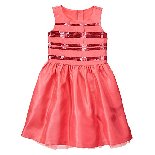 gymboree-girls-coral-sequin-dress