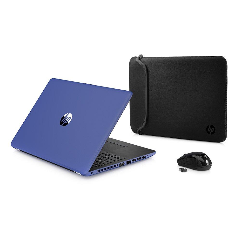 Amazon.com: HP High Performance Laptop PC 15.6-inch HD+ Display AMD E2-9000e Processor 4GB DDR4 RAM 500GB HDD WIFI DVD-RW HDMI Bluetooth Webcam Sleeve&Mouse ...