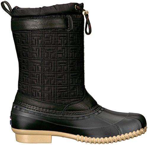 Tommy Hilfiger Women's Rocke Snow Boot, Black, 8 M US