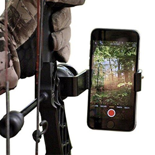 Smartphone Camera Bow Phone Mount for Use with Iphone,samsung,gopro, and More by HOMELEX