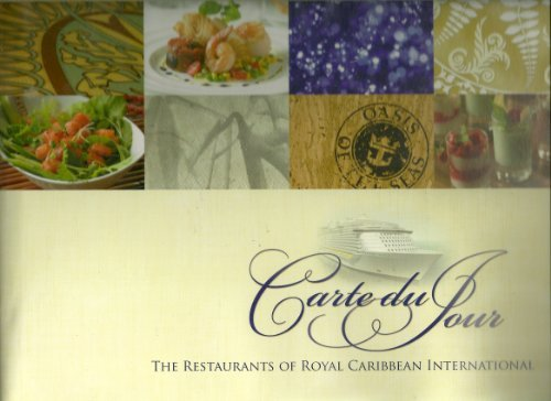 Carte Du Jour The Restaurants Of Royal Caribbean International