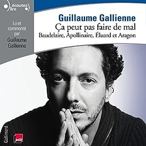 Baudelaire, Apollinaire, Éluard et Aragon lus et commentés par Guillaume Gallienne (Ça peut pas faire de mal 2) | Livre audio