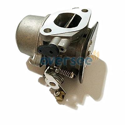OVERSEE 67D-14301/68D-14301 Outboard Carburetor For Yamaha outboard Motor 4HP 5HP 4 Stroke, CARBURETOR CARB ASSY, Boat Motor Carburetor Assembly, Aftermarket Parts 67D-14301-13/68D-14301-13