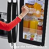 Volecy Refrigerator Door Handle Covers, Set of 5