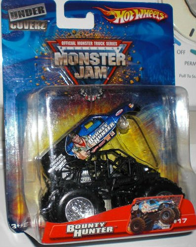 2006 HOT WHEELS UNDER COVERZ MONSTER JAM BOUNTY HUNTER #17