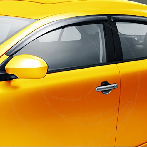 LT Sport Custom Fit 10-13 MAZDA 3 Hatchback Window Visor Rain Guard Deflector