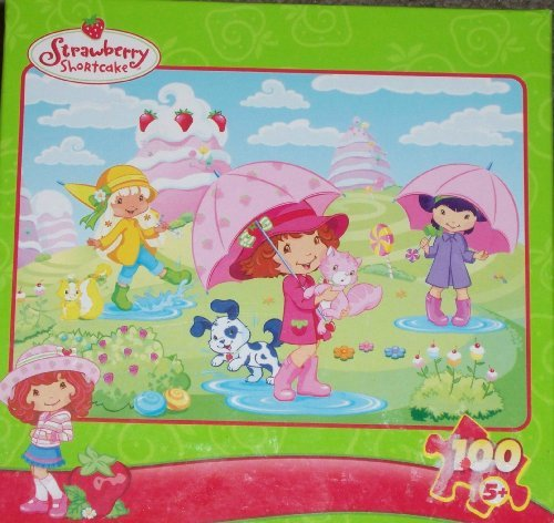 Strawberry Shortcake Rain Showers 100 Piece ()