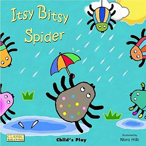 - Itsy Bitsy Spider (Classic Books With Holes)