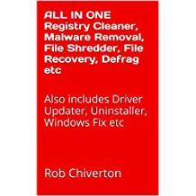 ALL IN ONE Registry Cleaner, Malware Removal, File Shredder, File Recovery, Defrag etc: Also includes Driver Updater, Uninstaller, Windows Fix etc