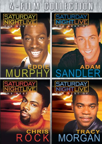 Best of SNL Four-Pack (Eddie Murphy / Chris Rock / Tracy Morgan / Adam Sandler) (Moose Murphy)