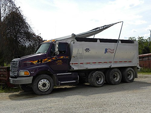 Electric ALUMINUM Arm 4 Spring Dump Truck Flip Tarp for sale  Delivered anywhere in USA