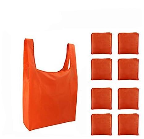 Amazon.com: lzjz reutilizable bolsas de comestibles bolsa ...