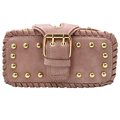 359 Monique Casual Cross Bag Bag Fashion Pink body Handbag Beach Clutch Women bag Satchel Motorcycle Tote Mini SSTZqrx
