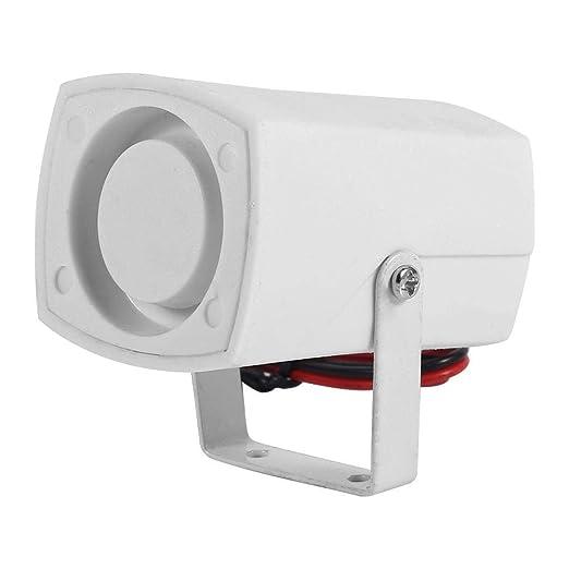 Bocina de sirena de alarma bocina sirena ruidosa con Cable para sistema 110dB