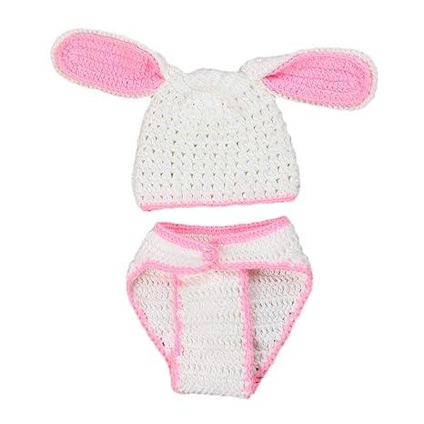 Amosfun Fotografía de bebé Prop Easter Bunny Punto de ...