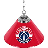 NBA Washington Wizards Single Shade Gameroom Lamp, 14''