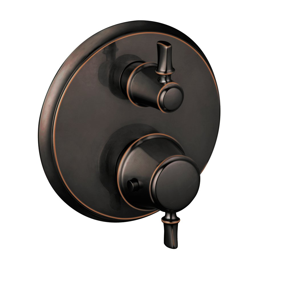 Hansgrohe 04220920 C Thermostatic Trim with Volume Control, Rubbed Bronze by Hansgrohe  B003K4CY3Y