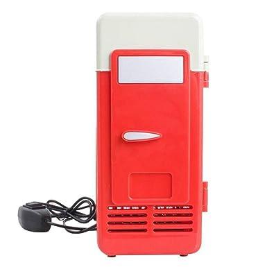 Refrigerador PC Congelador Nevera Portátil USB Mini latas Bebida ...