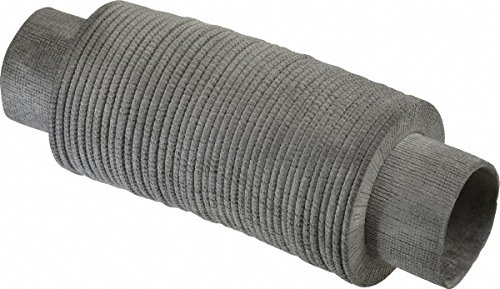 63415780 Made in USA - 24 Inch Long, 0.04 Inch Thick, Nylon Airtight Molded Bellow Thick Nylon Coupler