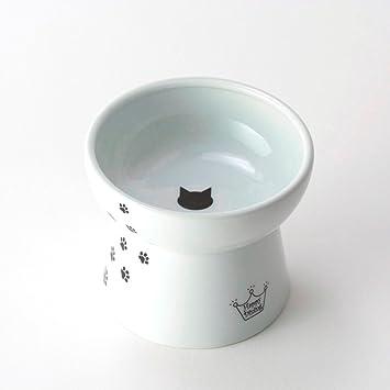 necoichi raised cat food bowl cat large - Cat Bowls