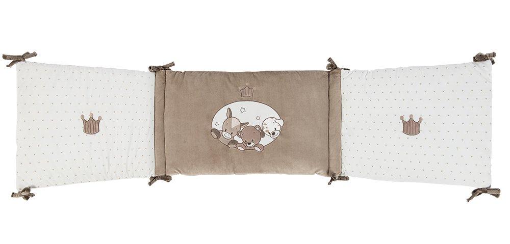 Nattou Nestchen für Babybett 70x140 cm und 60x120 cm, Mädchen und Jungen - Max, Noa und Tom