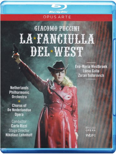 Puccini: La fanciulla del West [Blu-ray]