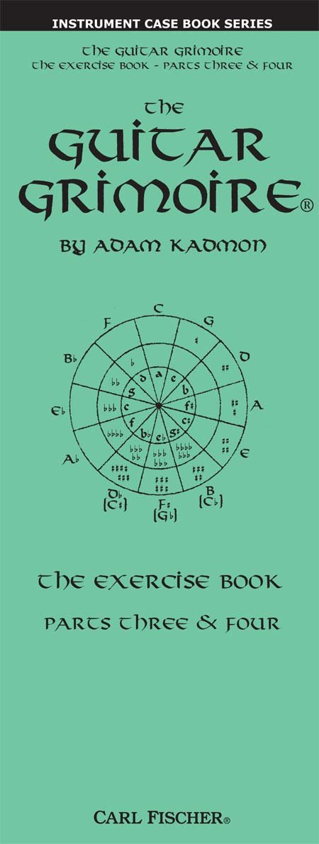 Read Online GT110 - The Guitar Grimoire - The Exercise Book - Parts Three & Four PDF