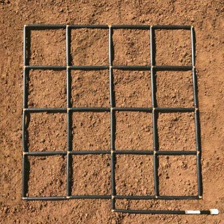 Garden in Minutes Garden Grid Watering System - 4x4 - Garden Irrigation System & Plant Spacing Guide - Raised Bed Gardens, Square Foot Gardens, Ground-Level Gardens. Drip Irrigation to Full Stream.