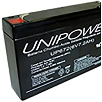 Unipower Bateria 6V 7.2AH UP672 F187 Nao Autom.