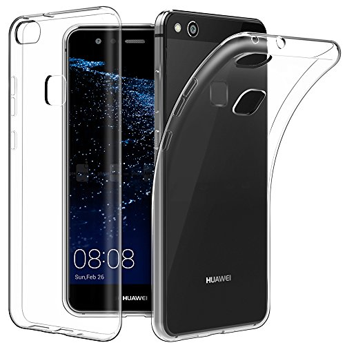 "Price comparison product image Huawei P10 Lite 5.2"" Case, EasyAcc Soft TPU Case Crystal Clear Transparent Slim Anti Slip Case Back Protector Cover for Huawei P10 Lite"