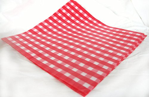 red and white basket liners - 9