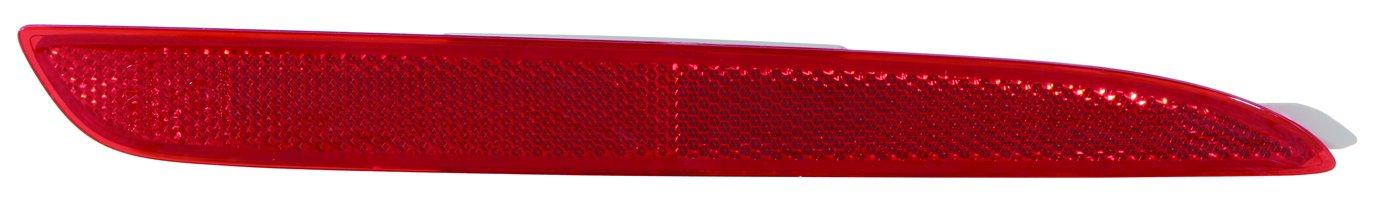 Depo 216-2905L-US Reflector MAZDA 3 10-13 REAR DRIVER SIDE