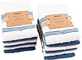 #5: KAF Home Pantry Piedmont Dish Cloths (Set of 12, 12x12 inches), 100% Cotton, Ultra Absorbent Terry Towels