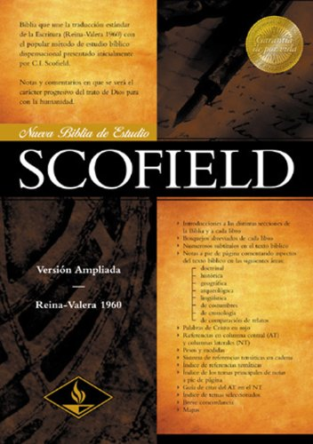 Download RV 1960 New Scofield Study Bible (Burgundy Bonded Leather) (Spanish Edition) ebook