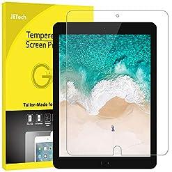 [2 Pack] Screen Protector for Apple iPad Air, Air 1, iPad Air 2, iPad Pro Tempered Glass Film 9H HD, Premium…