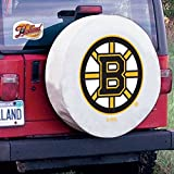 Boston Bruins NHL Tire Cover White Size: C - 31.25 x 12 Inch