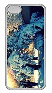 Customized iPhone 6 PC Transparent Case - Winter Day Personalized Cover