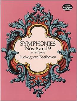 ベートーヴェン: 交響曲全集 第3巻: 第8番、第9番 「合唱付き」/ドーヴァー社/大型スコア