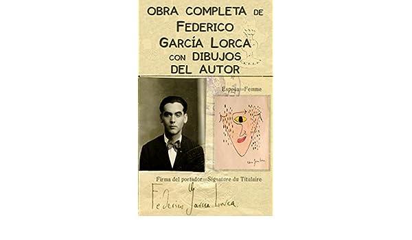 Amazon.com: Obra completa de Federico García Lorca con ilustraciones del autor (Spanish Edition) eBook: Federico García Lorca, Ángeles Goyanes: Kindle Store