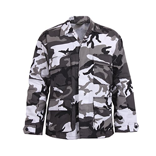 Rothco Color Camo BDU Shirt, X-Small