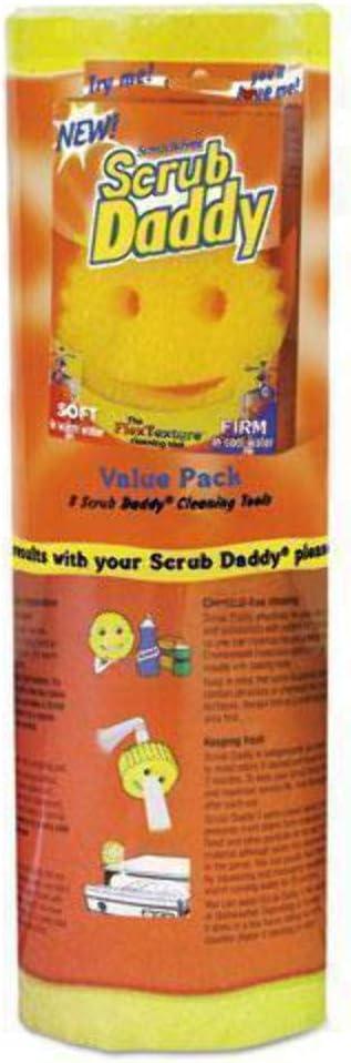 """Inc amarillo, esponja de 4 1//8/"""" de diámetro Scrub papá depuración de arañazos"""
