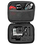 Freestep Carrying Case and Storage Bag for Gopro Hero 4 Hero 3 Hero 3+ Hero 2, Ideal for Travel or Home Storage (Small)